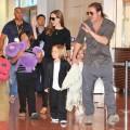 Angelina Jolie And Brad Pitt Arrive In Tokyo