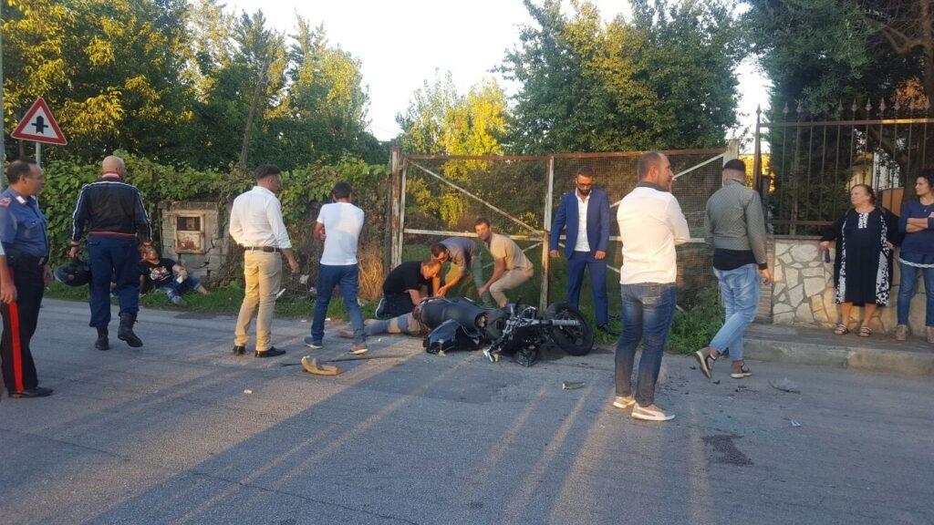 gricignano incidente moto 25set16 (15)