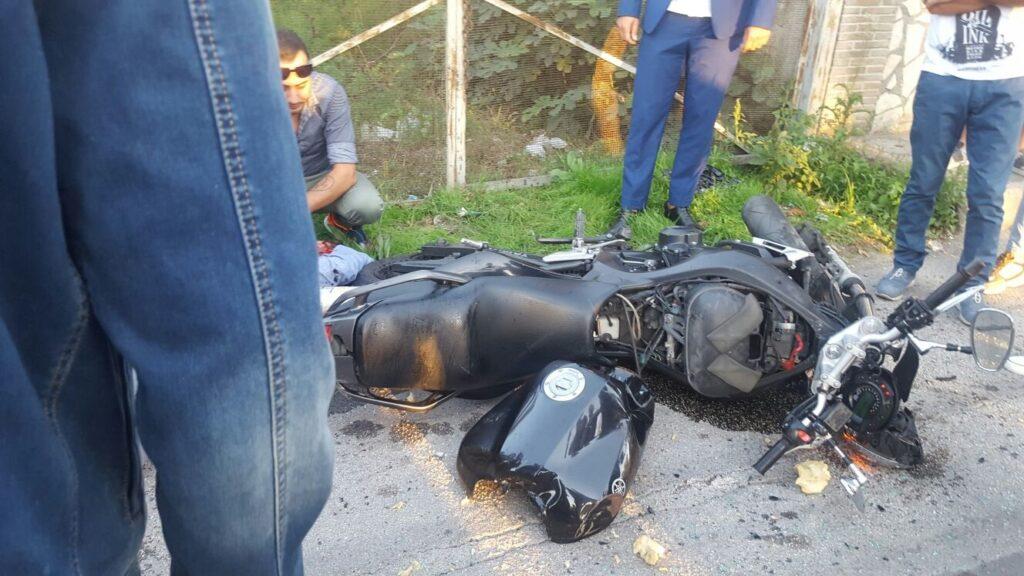 gricignano incidente moto 25set16 (17)