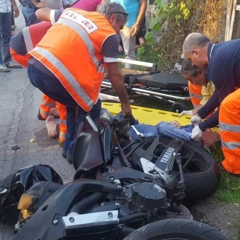 gricignano incidente moto 25set16 (2)