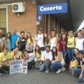 gruppo in arrivo a Caserta