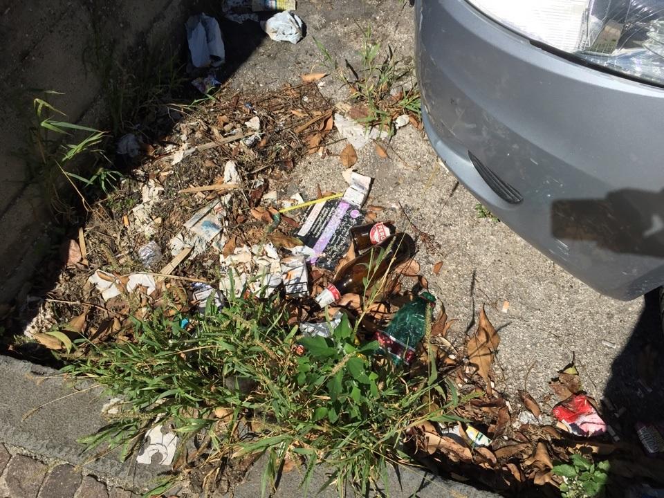trentola scuola rifiuti (8)
