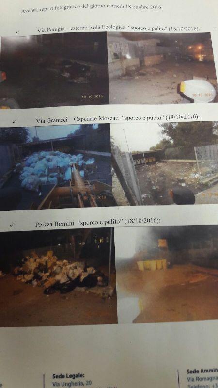 aversa report rifiuti sporco pulito (2)