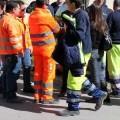 Sciopero dei netturbini  Monta la protesta-4