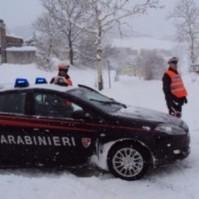 carabinieri neve