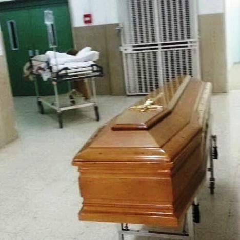 funerale ospedale