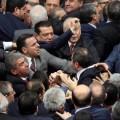 parlamento turco rissa