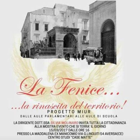 Locandina evento liceo artistico alla Maddalena