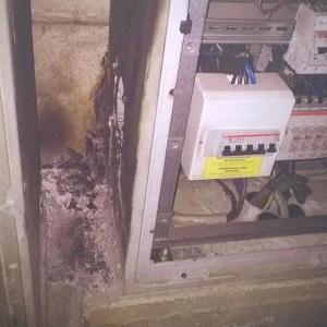 aversa incendio quadro elettrico (1)