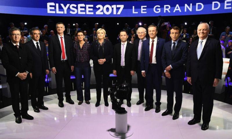 francia candidati 2017