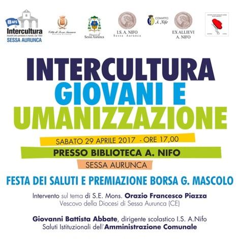 locandina Intercultura Sessa