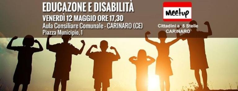 disabilità m5s carinaro