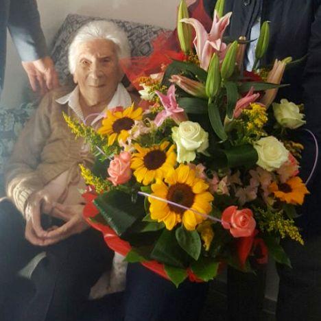 nonna aversa 103 anni