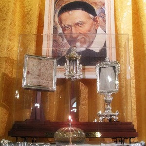 reliquia san vincenzo de paoli
