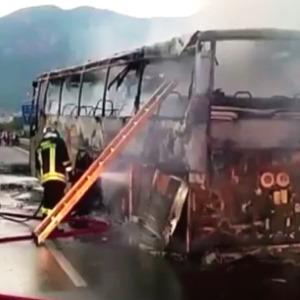 bus incendio
