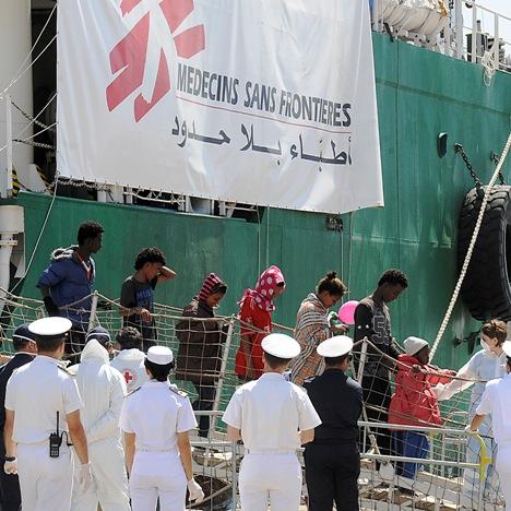 migranti Medici Senza Frontiere