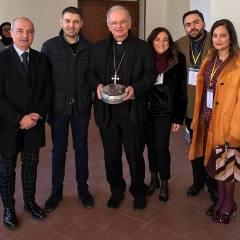 Insieme al Vescovo Spinillo