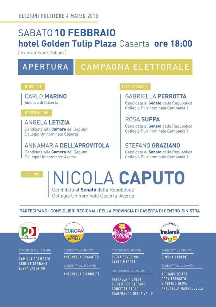 Invito Caserta sabato 10