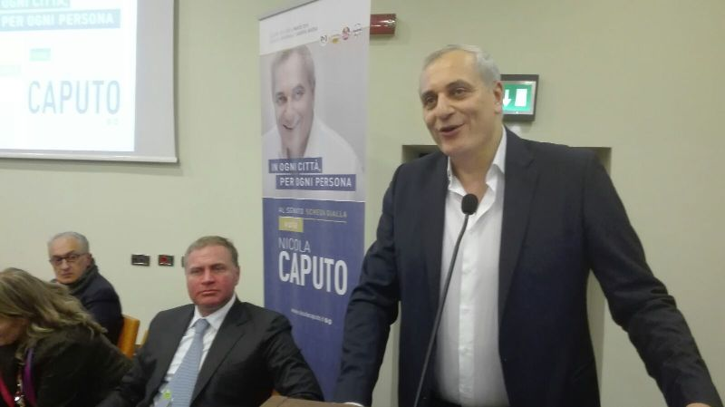 L'europarlamentare Nicola Caputo