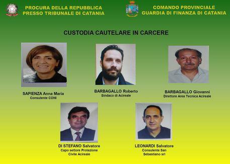 Corruzione: 8 arresti Gdf, anche sindaco Acireale