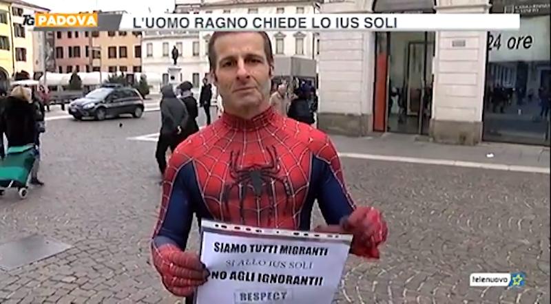 Mauro Merlino spiderman ius soli migranti