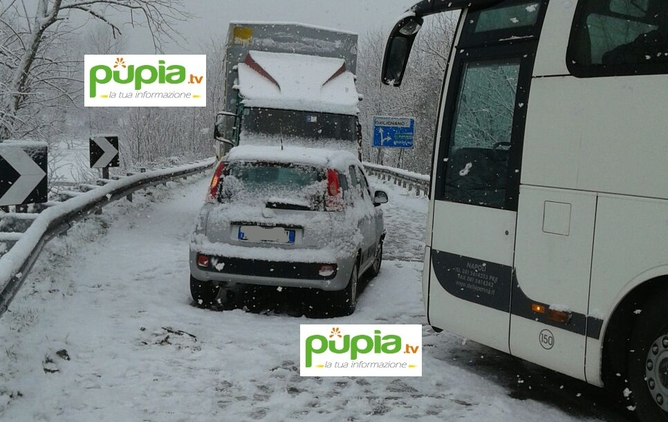gricignano incidente neve (2)