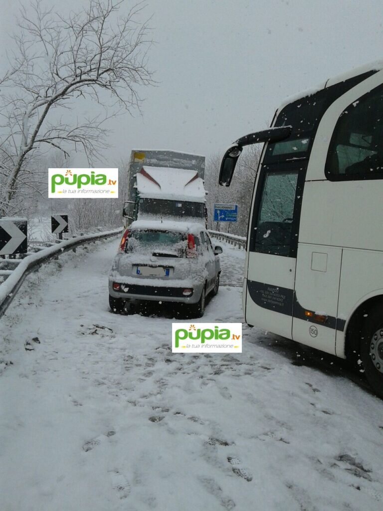 gricignano incidente neve (2)