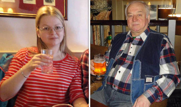 Sergei Skripal e yulia