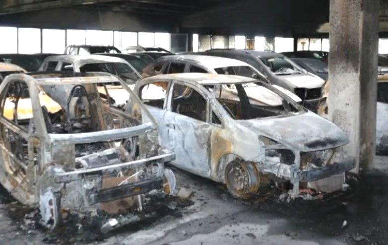 auto incendi