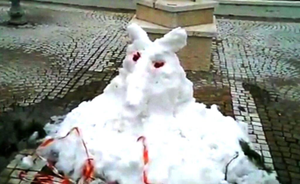 cimitero neve