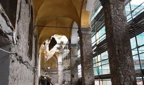 crollo monastero