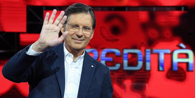"Rai: ""L'eredit‡""; Fabrizio Frizzi"