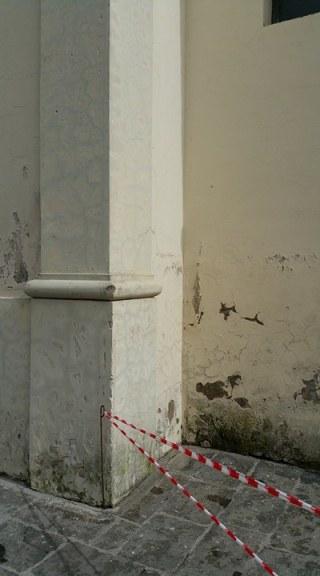 gricignano chiesa voragine (2)
