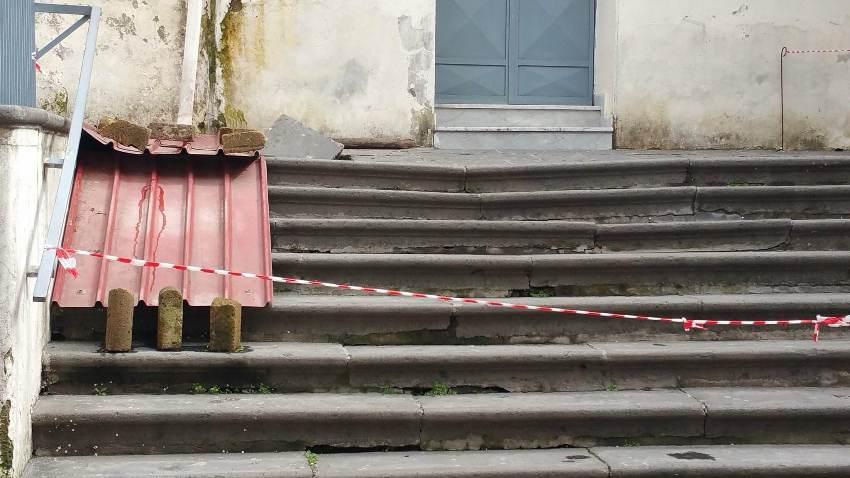 gricignano chiesa voragine (4)