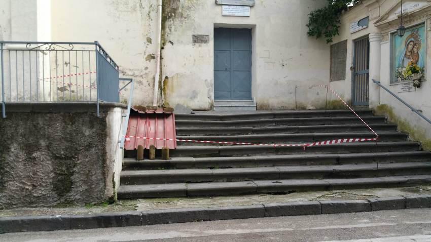 gricignano chiesa voragine (8)