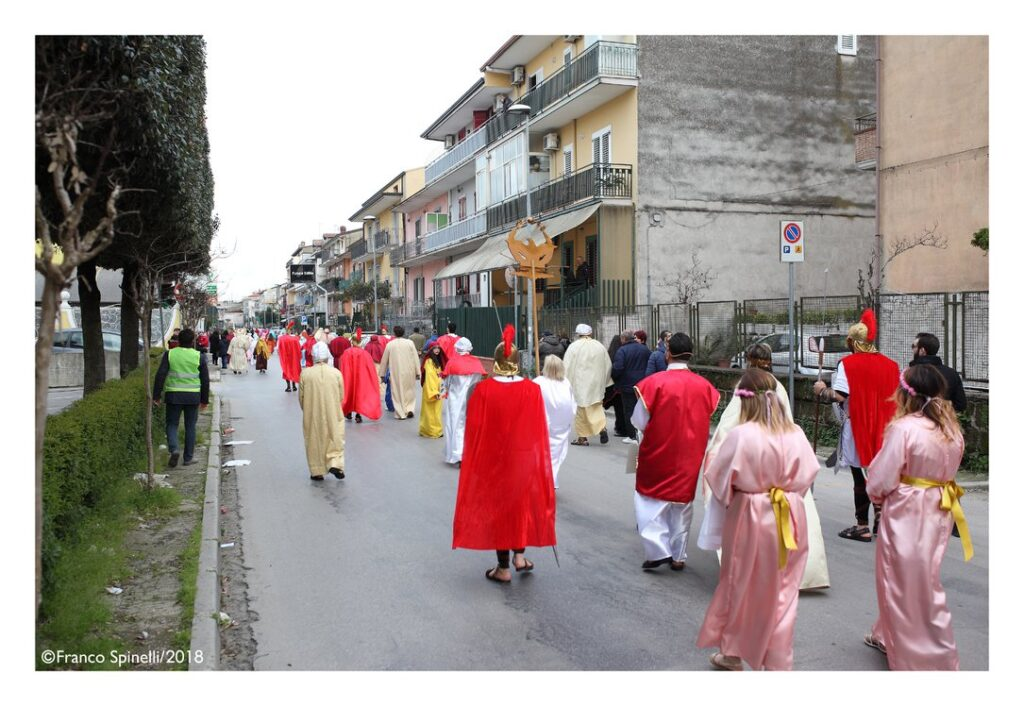 pasqua gricignano 2018 via crucis (1)