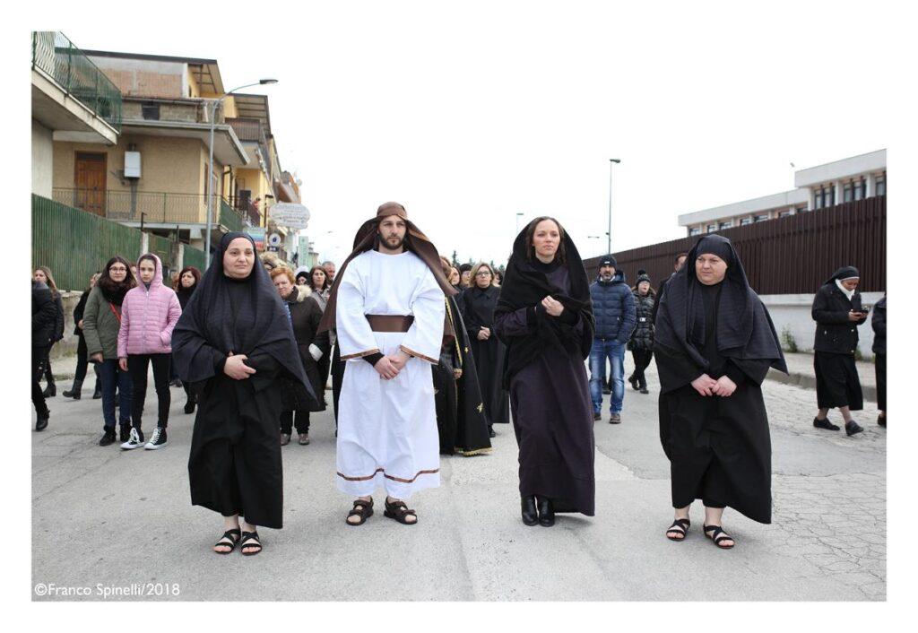 pasqua gricignano 2018 via crucis (18)