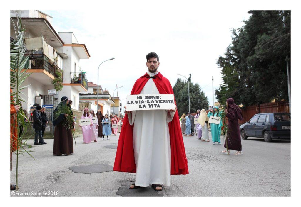 pasqua gricignano 2018 via crucis (19)