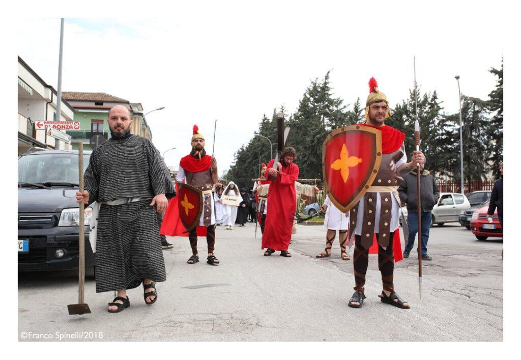 pasqua gricignano 2018 via crucis (2)