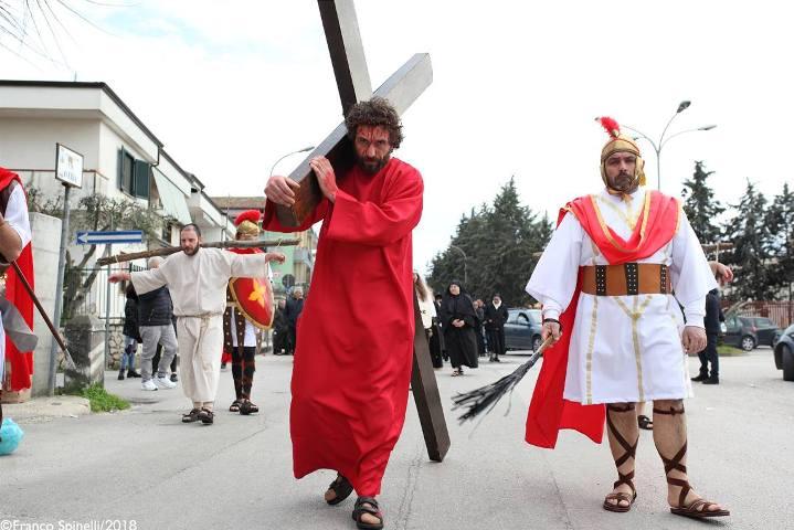 pasqua gricignano 2018 via crucis (26)