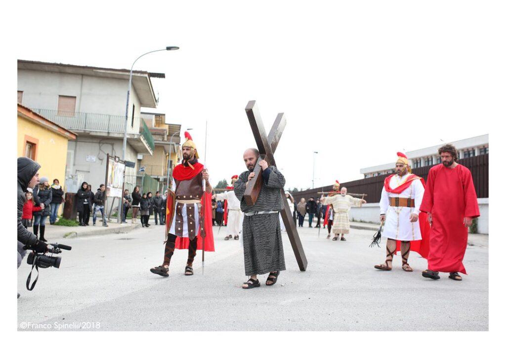 pasqua gricignano 2018 via crucis (3)