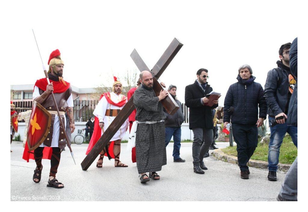 pasqua gricignano 2018 via crucis (31)