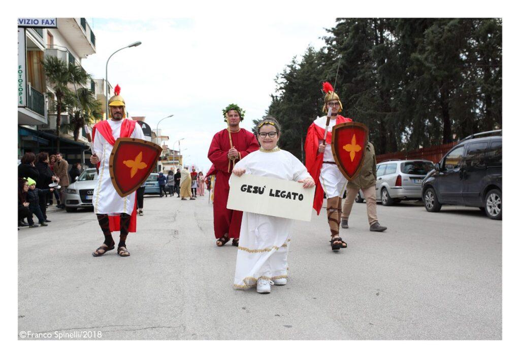pasqua gricignano 2018 via crucis (33)