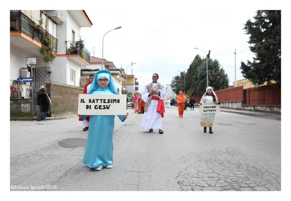 pasqua gricignano 2018 via crucis (6)
