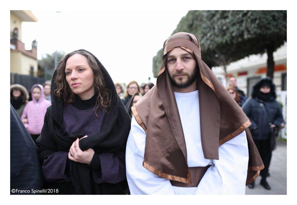 pasqua gricignano 2018 via crucis (8)