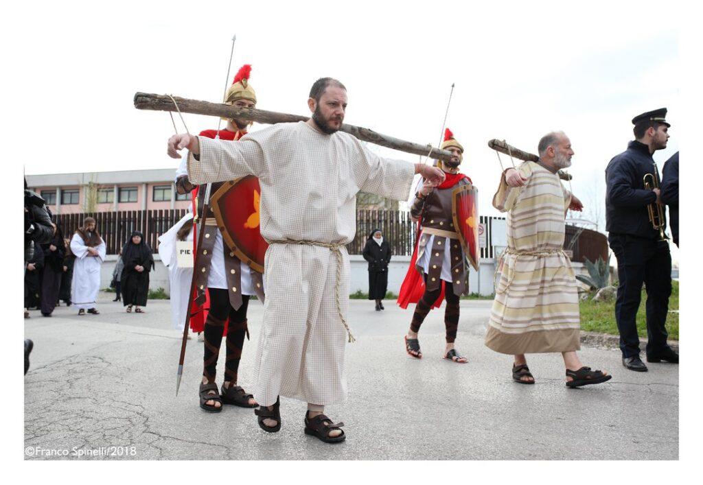 pasqua gricignano 2018 via crucis (9)