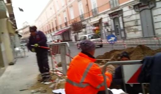 via roma lavori