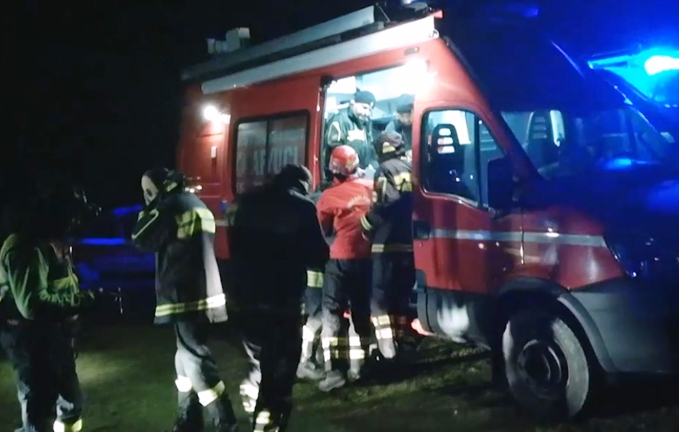 vigili fuoco camion