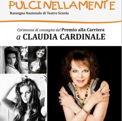 Claudia Cardinale pulcinellamente