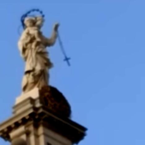 madonna pompei corona